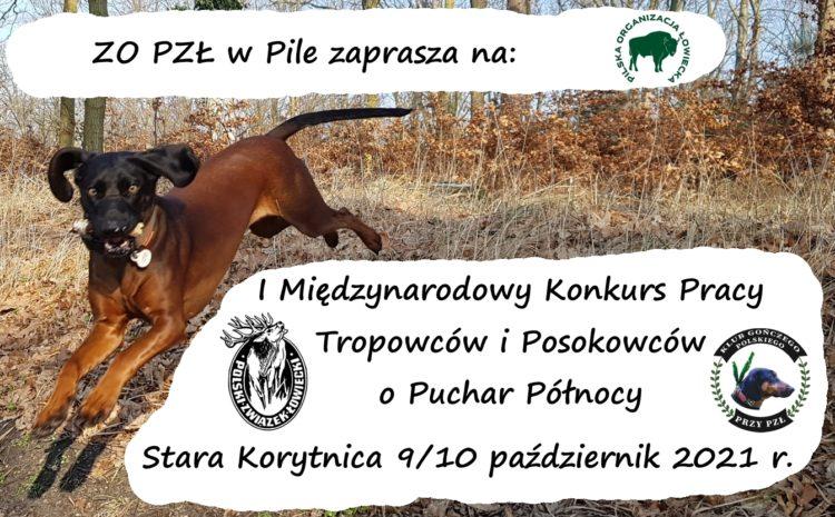 Konkurs pracy psów myśliwskich w Starej Korytnicy – 9/10.10.2021r.